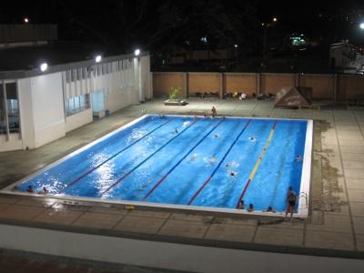 Info system eventos piscinas hernando botero for Piscina olimpica medidas